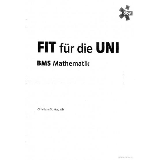 Fit fur die uni BMS mathematik
