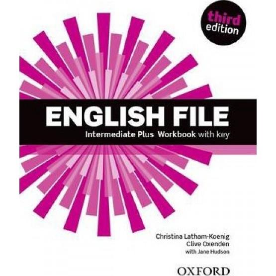 English File Intermediate Plus Workbook third edition