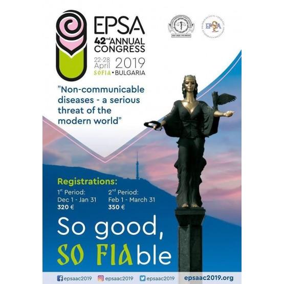 EPSA 2019 Educational Booklet So good, So Fiable
