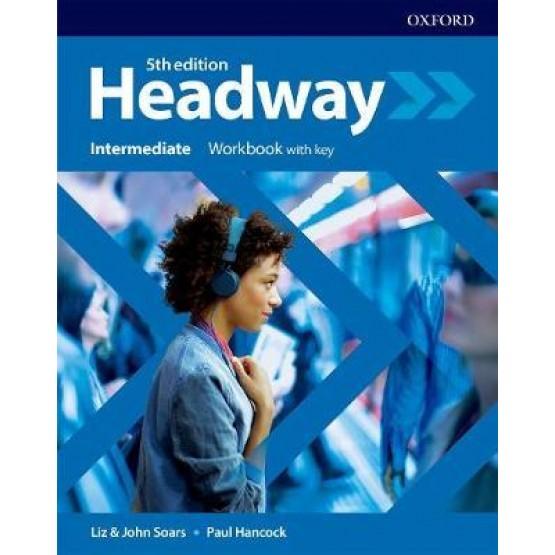 Headway Intermediate Workbook with key 5th edition