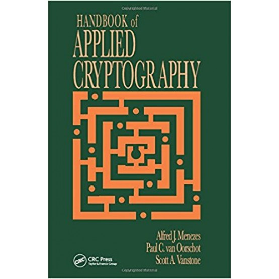 Handbook of Applied Cryptography