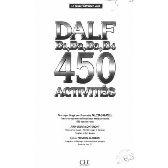 DALF 450 activities b1 b2 b3 b4