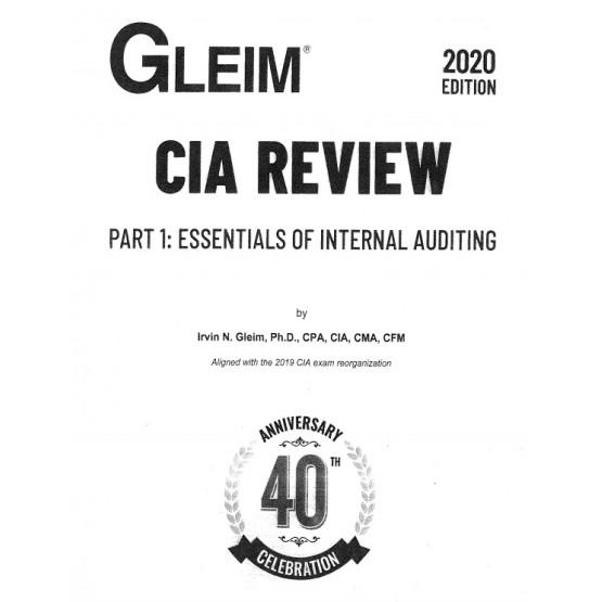 GLEIM CIA review part 1