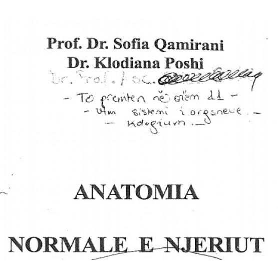 Anatomia normale e njeriut