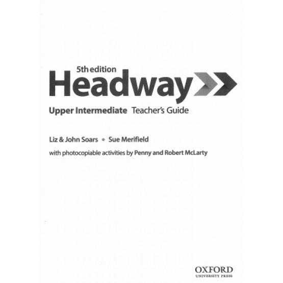Headway Upper intermediate Teachers  book 5th edition
