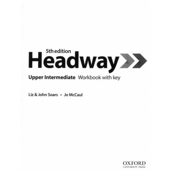 Headway Upper intermediate Work book 5th edition