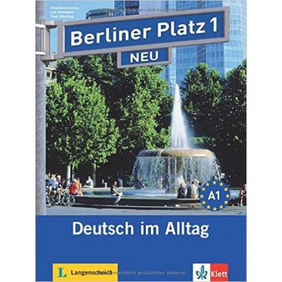 Berliner Platz 1 NEU Учебник