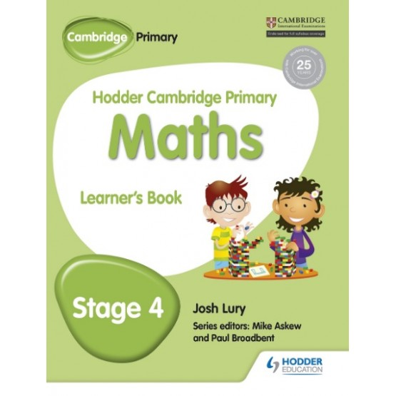 Hodder Cambridge Primary Maths Learner's Book Stage 4
