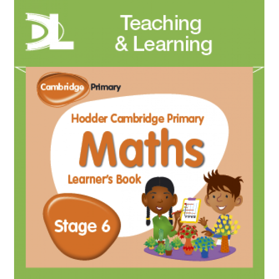 Hodder Cambridge Primary Maths Learner's Book Stage 6