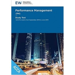 ACCA  Performance Management (PM) STUDY TEXT