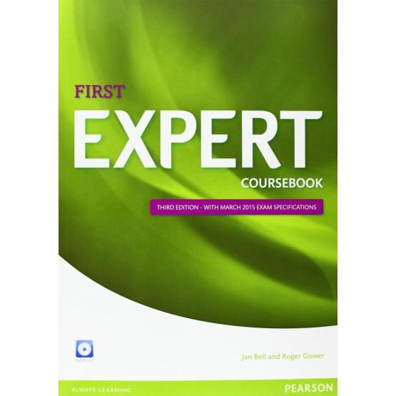 First EXPERT coursebook