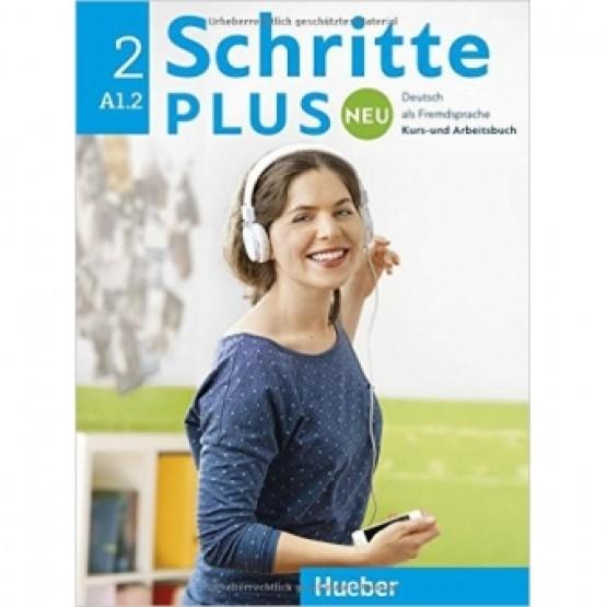 Daniela Niebisch - Schritte plus neu 2 A1.2 - Kurs- und Arbeitsbuch-Hueber (2016)