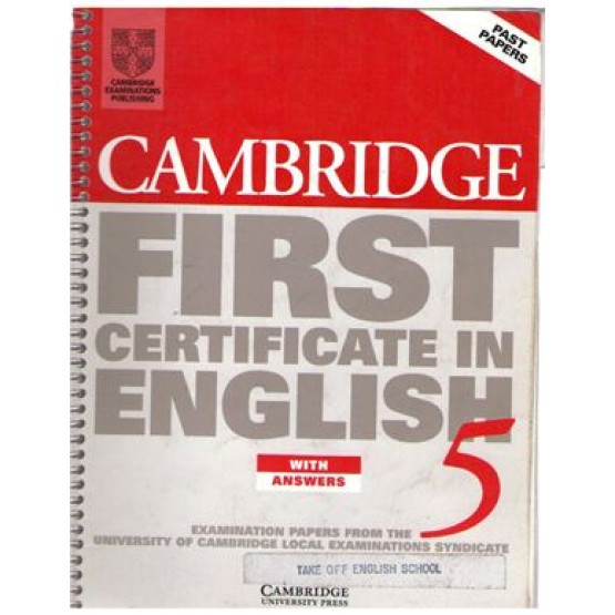 Cambridge First Certificate in English 5