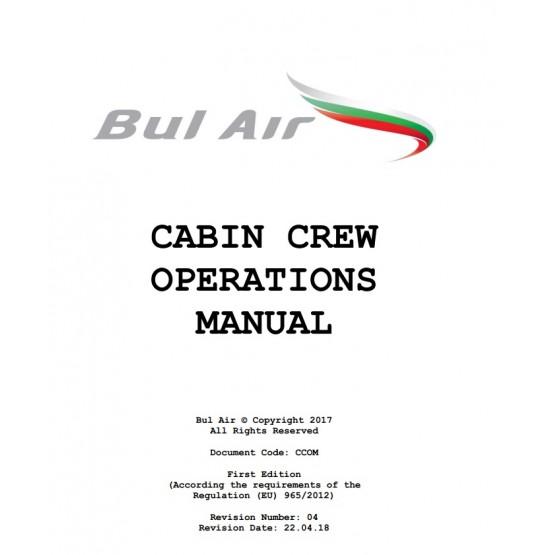 Bul Air Cabin Crew operations manual
