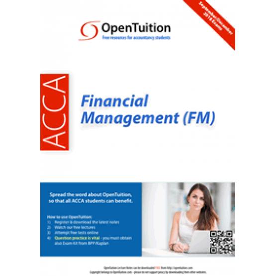 ACCA financial management FM