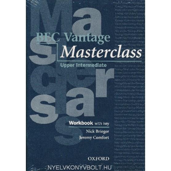 Bec Vantage Masterclass Upper Intermediate Workbook with key