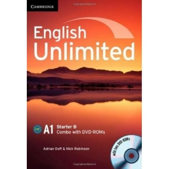 English Unlimited A1 Starter B Combo with DVD-ROMs