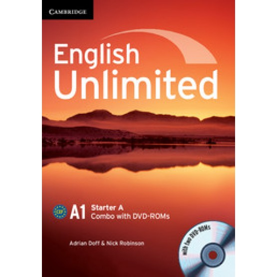 English Unlimited A1 Starter A Combo with DVD- ROMs