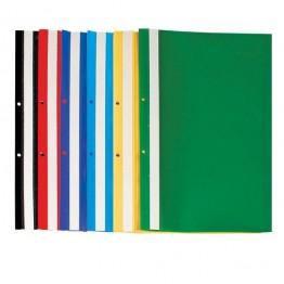 Папка PVC с перфорация Economy 150 микрона различни цветове