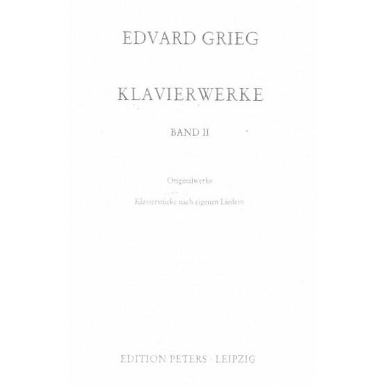 Edvard Grieg Klavierwerke Band II