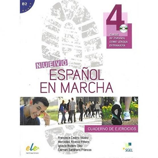 Espanol en Marcha, Cuaderno de Ejercicios, 4 Curso