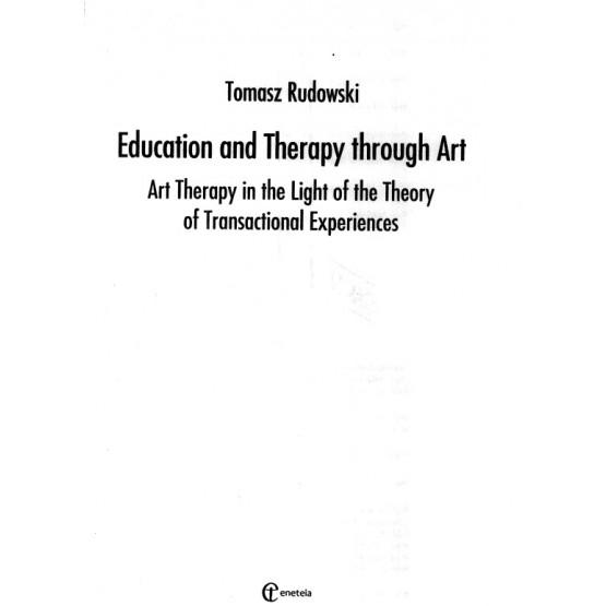 Education and Therapy Through Art, T. Rudowski, 2015