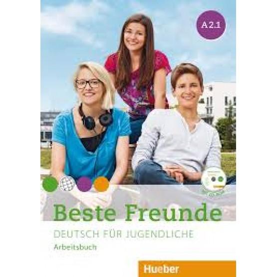 Beste Freunde - Deutsch für Jugendliche, A2.1, Arbeitsbuch