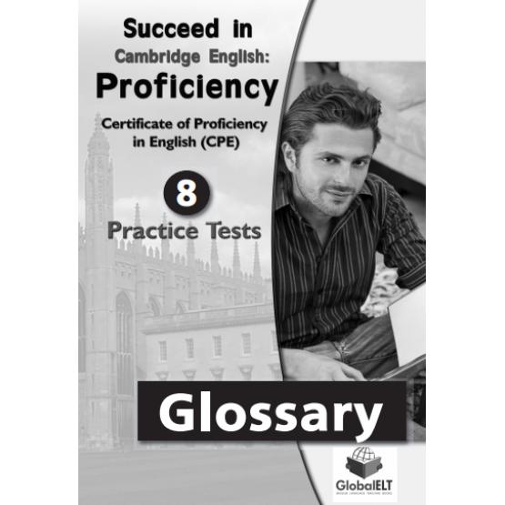 Cambridge English - Proficiency - 8 Practice Tests - Glossary