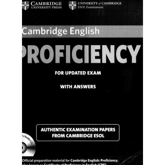 Cambridge English - Proficiency 1 - for Updated Exam