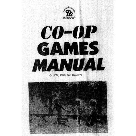 Co-op Games Manuel - Booklet