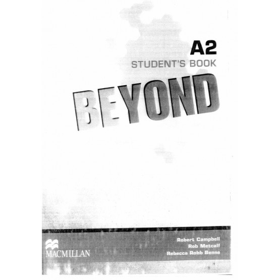 Beyond Students book A2