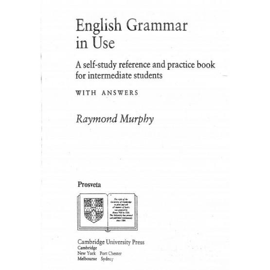 English grammar in use intermediate - Murphy