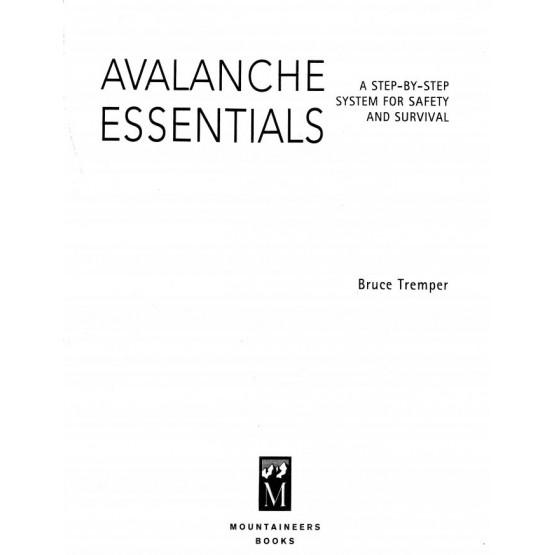 Avalanche essentials Tremper