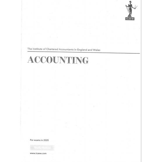 Accounting Study Manual 2020