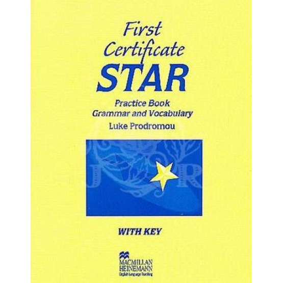 First certificate star practice book
