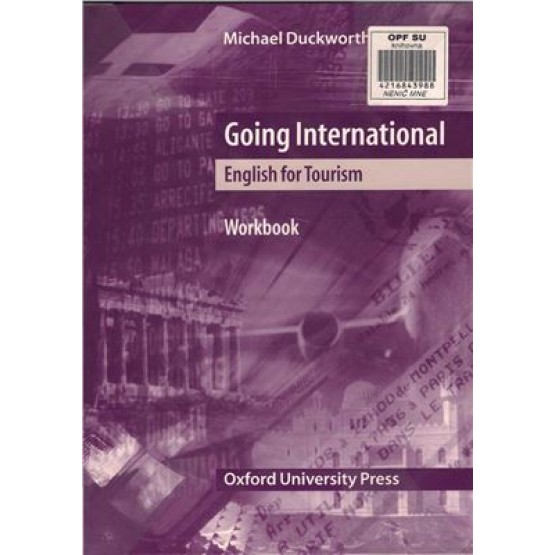 Going International english for tourism Workbook Duckworth