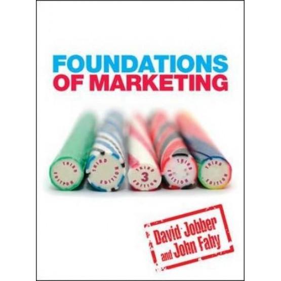 Foundations of marketing third edition David Jobber