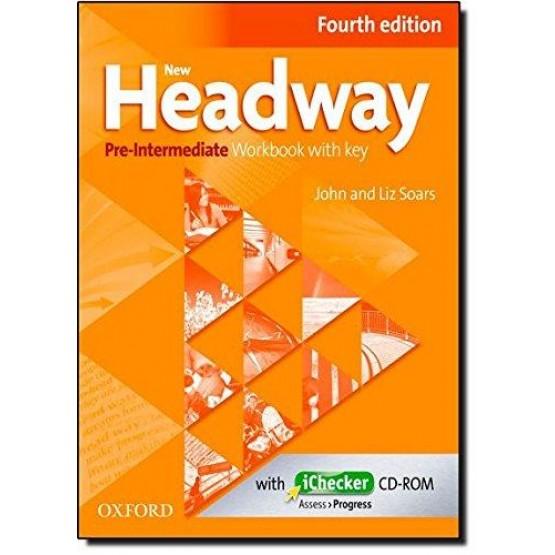 Headway pre-intermediate Fourth edition workbook