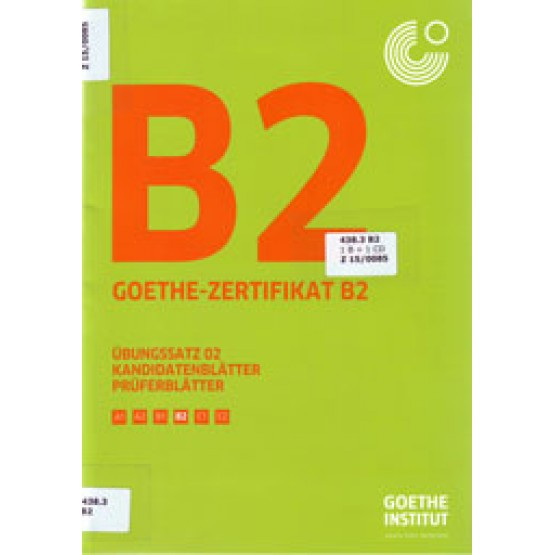 Goethe Zertifikat B2