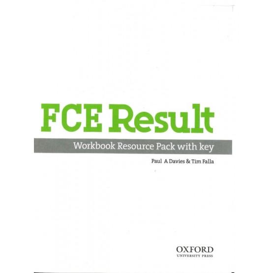 FCE Result Workbook resource pack