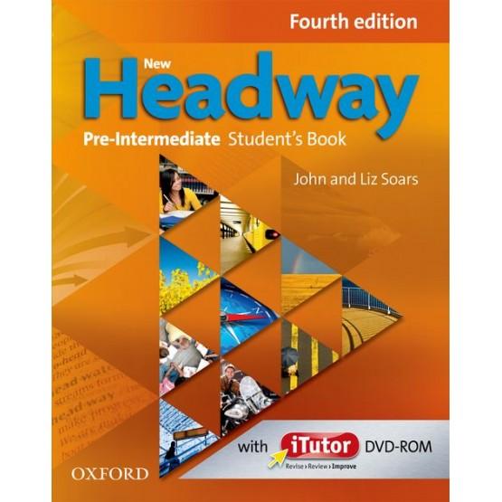 Headway pre-intermediate Fourth edition book