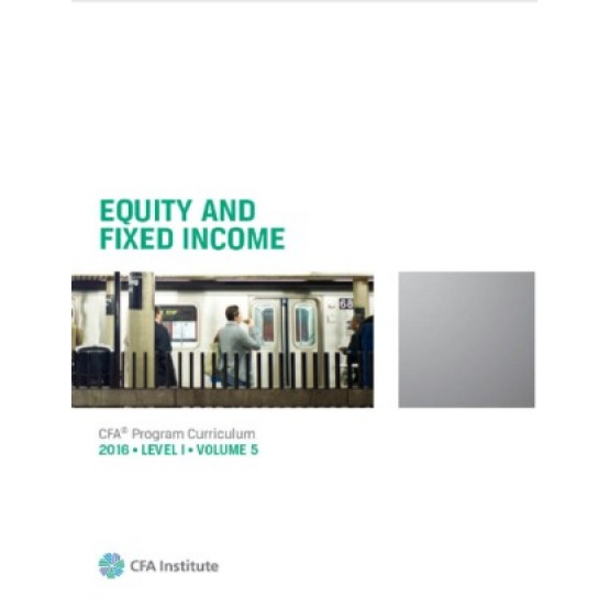Equity and fixed income CFA 2016