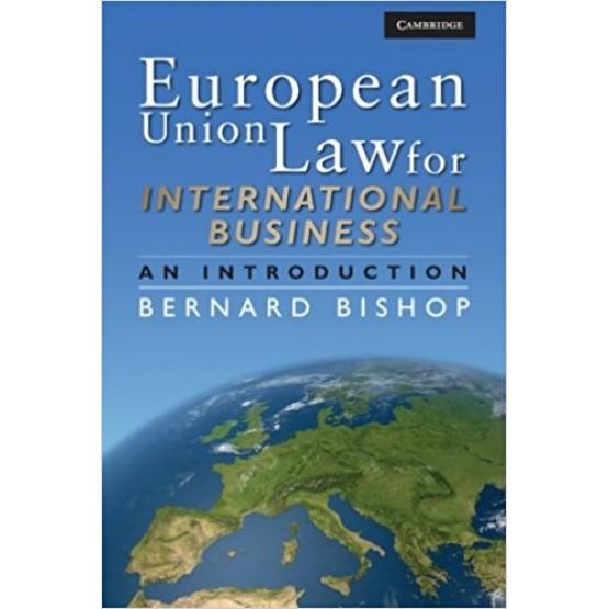 European Law for International Business-Bernard Bishop
