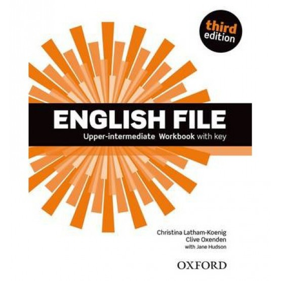 English file upper intermediate workbook with key