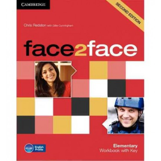 Face2face elementary Workbook with key second edition
