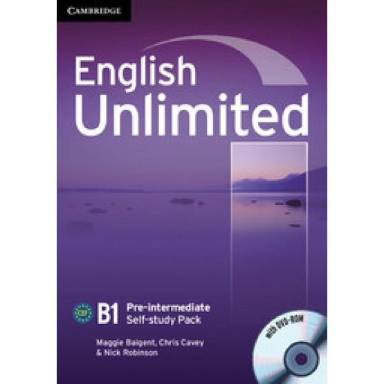English Unlimited B1 Pre-intermediate self-study