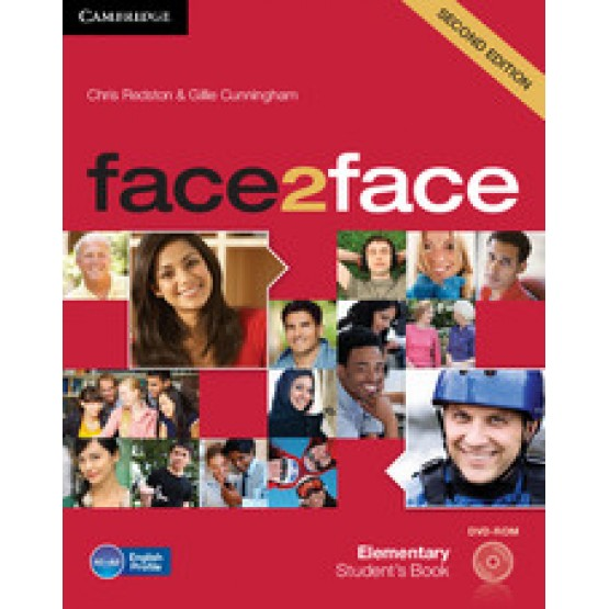Face2face elementary Student's book second edition cambridge