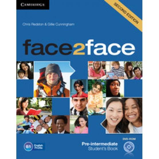 Face2Face Pre-intermediate Students book