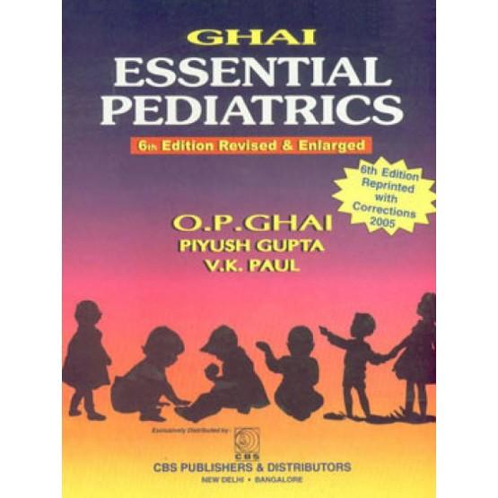 Essential pediatrics ghai 6th
