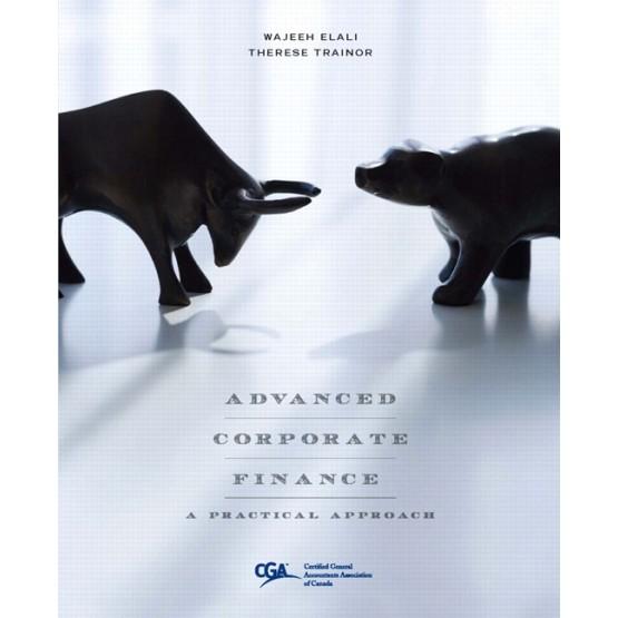 Advanced Corporate Finance Wajeeh Elali
